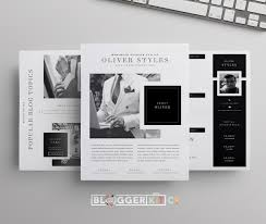 dapper media kit template media kit and microsoft word 2007