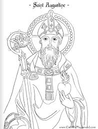 St Patrick Coloring Page Catholic Clip Art Holy Trinity Coloring Saints Colouring Pages