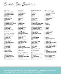 wedding gift list wedding ideas