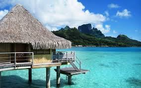 bora bora hut wallpaper high resolution bhstorm com