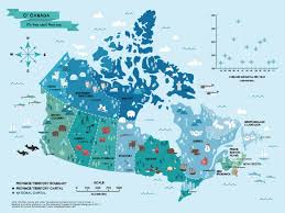 map of the provinces of canada 15 interesting maps that will change the way you see canada