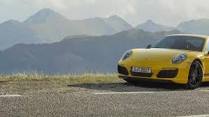 porsche 911 weight by year 2018 porsche 911 t curbs weight boosts handling prowess roadshow