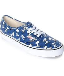 vans peanuts authentic snoopy skate shoes zumiez