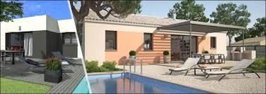 plan villa plain pied 4 chambres plans de maisons plain pied avec 4 chambres de maisons confort