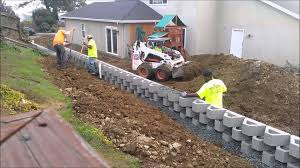 drainage u0026 backfill retaining wall construction benicia ca time