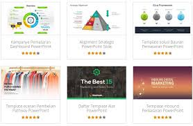 5 website tempat download template presentasi powerpoint gratis