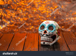 halloween background wide halloween dia de los muertos celebration stock photo 498628432
