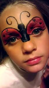 Face Makeup Designs For Halloween by Best 25 Ladybug Face Paint Ideas On Pinterest Facepaint Ideas