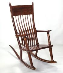 Classic Design Chairs Amazing Classic Wooden Rocking Chair Design Ideas Feature Brown