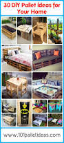30 diy pallet ideas for your home