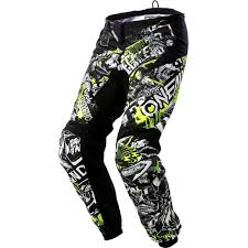 motocross gear gold coast new oneal 2018 mx gear element attack black hi viz dirt bike