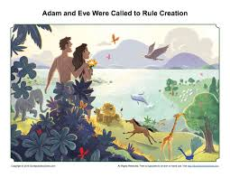 adam and eve were called to rule creation sermon page children u0027s