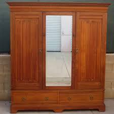 antique dresser closet combo