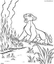 the lion king 2 coloring pages funycoloring