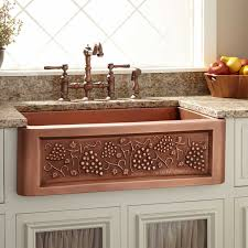 kitchen copper farm sinks for kitchens kitchen farm sinks