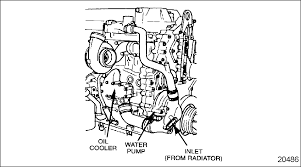replacing a water pump cooling system detroit diesel troubleshooting diagrams