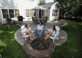 Backyard Contest Makeover by Delay Only Heightens Contest Winner U0027s Enjoyment Of New Backyard