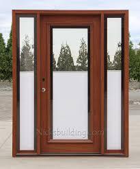 All Glass Exterior Doors Blinds Between Glass