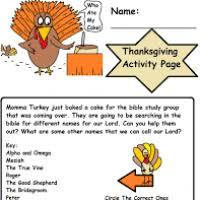 thanksgiving sunday school activities divascuisine