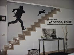 Staircase Wall Decorating Ideas Wallpaper Ideas For Staircase Wall Decoration Stairs Pinterest