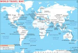 world travel maps