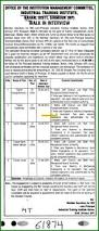 Iti Job Electrician Industrial Training Institute Iti Women Nahan Himachal Pradesh