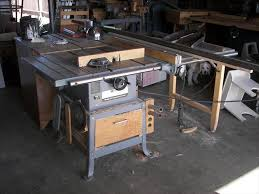 delta 10 inch contractor table saw photo index feed vintagemachinery org