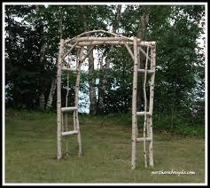 birch wedding arch arbor kit x large2 birch wedding rustic