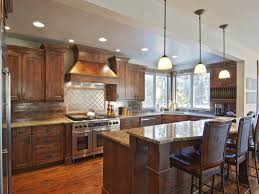 Over Cabinet Lighting For Kitchens Love The Drop Lights Over Kitchen Bar New House Pinterest