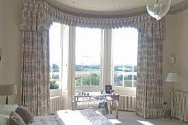 Images Of Curtain Pelmets Curved Bay Window Pelmet U0026 Curtains Moghul Interiors