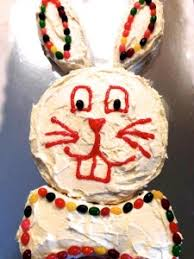 my easter bunny easter bunny cake the frugal