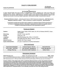 Skills In Resume Example System Administrator Resume Includes A Snapshot Of The Skills Both