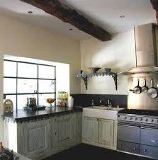 cuisine a l ancienne cuisine neuve avec décoration á l ancienne décarts lyon