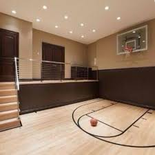 Best Indoor Basketball Courts Images On Pinterest Indoor - Home basketball court design
