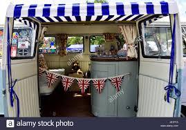 volkswagen 2017 campervan interior of a volkswagen splitscreen campervan from 1967 on