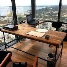 Diy Reclaimed Wood Desk Reclaimed Wood L Shaped Desk Stuff To Buy Desks Diy L Shaped Desk