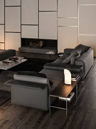 沙发 freeman seating system by minotti 设计师rodolfo dordoni