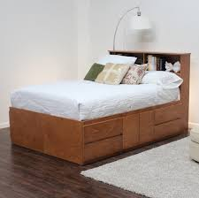 queen platform bed frame with drawers furniture queen platform