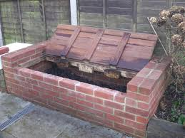 brick compost bin design google search jardines pinterest