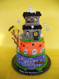 Halloween Haunted House Cake Cakesuniquebyamy Com U0027s Most Recent Flickr Photos Picssr