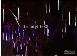led shooting star lights waterproof outdoor shooting star led lights series led meteor shower