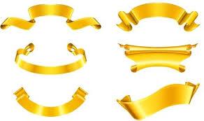 gold ribbon golden ribbon eps free vector 176 789 free vector for