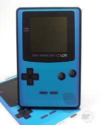 Gameboy Color Blue Kindle Fire Skin Killer Duck Decals Gameboy Color