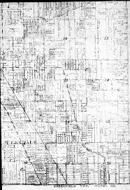 Map Of West Michigan by Community History