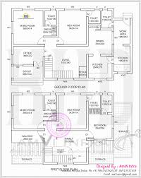 4 bedroom house plans in kerala double floor memsaheb net