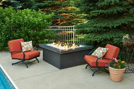 Outdoor Table With Firepit by Outdoor Great Room Fire Pits