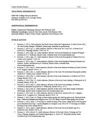Resume Reviewer Nmrt Resume Review