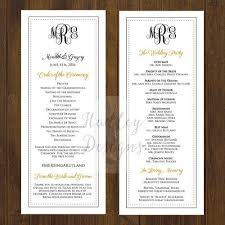 exles of wedding ceremony programs wedding ceremony program exles 28 images wedding ceremony
