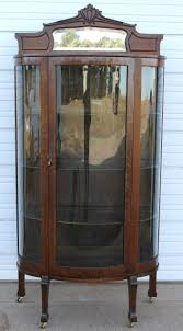 curved glass china cabinet jeanne s antiques crofton nebraska