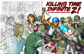 horror highlights zombie coloring book u0026a bb director cj